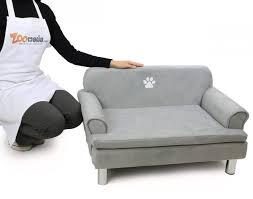 canap pour chien grande taille canapé pour chien zolia liloe panier et corbeille
