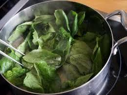 cuisiner des epinards frais epinards frais sautés au beurre tomber des épinards recette par