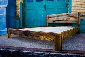 Reclaimed Wood Platform Bed Amazing Reclaimed Wood Platform Bed Platform Beds Ingvald Intended