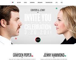 and grayden wedding website best designs award