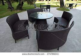 Wicker Patio Table And Chairs Wicker Furniture Stock Images Royalty Free Images U0026 Vectors