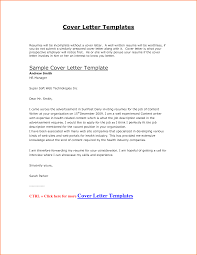 show examples of cover letters 81 images great cover letter