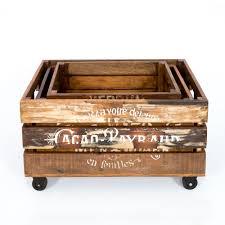 set de table vintage vintage wooden boxes gars