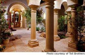 homes with courtyards home courtyards omahdesigns