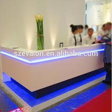 Modern Led Desk L Led Reception Desk Wholesale Reception Desk Suppliers Alibaba