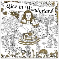 alice in wonderland coloring book piccadilly