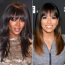 hairstyles based on the shape of head the right bangs to flatter your face shape instyle com
