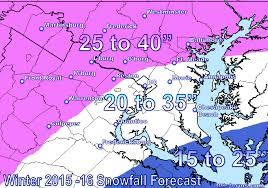 Snow Forecast Map Tim U0027s 2015 U2013 2016 Dc Winter Forecast Dcstorms Com