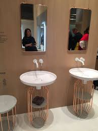 the pedestal freestanding sink makes a stylish comeback