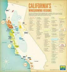 Oregon Ava Map by California Wine Areas Map California Map