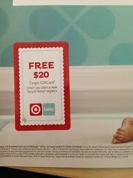 check your mail free 20 target gift card when you start a new