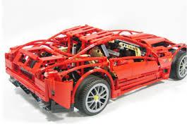 lego technic ferrari конструктор lego technic 8145 ferrari 599 gtb fiorano 1 10 decool
