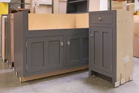 How To Paint Oak Kitchen Cabinets Large Painting Oak Kitchen Cabinets With Gray Color Decor Ideas