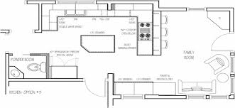 eat in kitchen floor plans proper kitchen layout home design