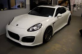porsche panamera modified techart grand gt based on porsche panamera turbo executive for