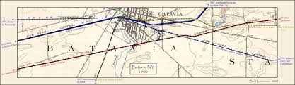 New York Rail Map by New York State Railroad Maps
