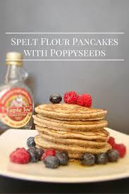 Pancake Flour Spelt Flour Pancakes With Poppyseeds Welcome To My Kitchen