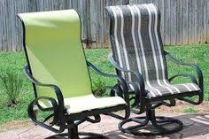 Patio Chair Repair Mesh Recover Sling Back Chairs We Just Bought 4 Of These For 20 And