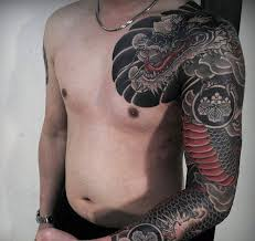 50 japanese tattoos for men masculine motifs