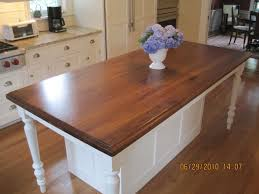hand made walnut island top by craft art direct custommade com
