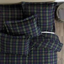 suzanne kasler plaid flannel bedding ballard designs