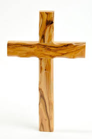 small wood crosses olive wood catholic cross 8 inches home kitchen