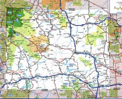 Map Of Usa Roads by Road Map Of Wyomingfree Maps Of Us