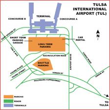tulsa airport map airguide airports tulsa international airport