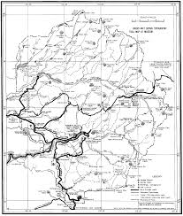 Map Of Glacier National Park Yosemite Historic Maps Yosemite Library Online
