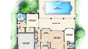 house plans with pool lush bedroom house plans pool house plans with pool houseplanscom