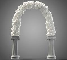 wedding arch balloons wedding arches you ll want to say i do right now