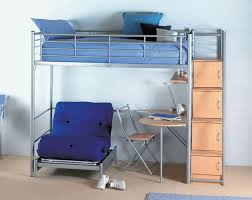 Bedroom Enchanting Loft Bed With Futon For Inspiring Unique Bed - Loft bunk bed with desk