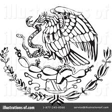 eagle clipart mexican eagle pencil and in color eagle clipart