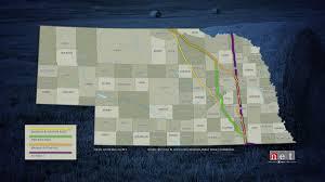 Keystone Map Why Some Nebraska Landowners Say Keystone Xl Still Travels Through