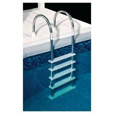 standard stainless steel in pool ladder for above ground pools