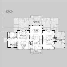 style house floor plans lewey lake shingle style home plans by david neff architect
