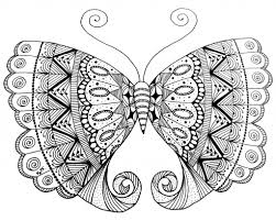 doodled butterfly doodle patterns