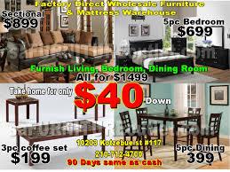 furnish whole apartment for 999 sa furniture san antonio