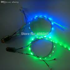 wholesale led shoe lights usb charging 3v smd 3528 rgb 60cm