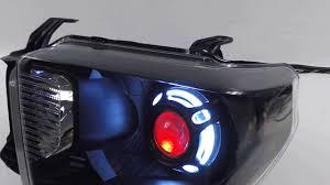 nissan tundra custom 2016 toyota tundra custom headlights morimoto fxr demon eyes