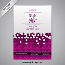 event poster vector free download