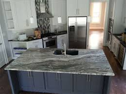 home hardware kitchen cabinets blue kitchen with oak cabinets backsplash santa cecilia granite