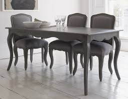 Dining Tables Grey Dining Table With Curved Legs And Attractive Detailing In