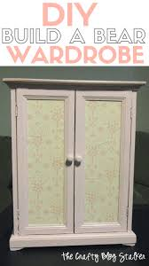 Build A Toy Box by How To Build A Bear Diy Toy Wardrobe The Crafty Blog Stalker