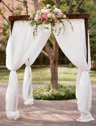wedding arches meaning a stunning simple wedding arch with a chandelier so much