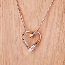plated rose gold necklace images Mothers children 39 s rose gold plated message necklace by lauryn jpg