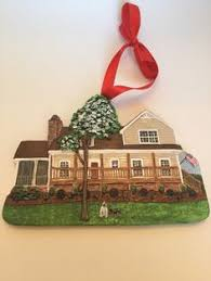 ornament made to look just like your house great gift idea
