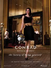 conrad getaway luxury advertising pinterest brand campaign