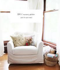 daphne u0027s nursery diy glider u2014 the grit and polish
