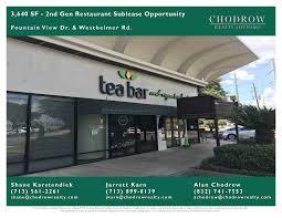 restaurant for sale in houston restaurant brokerage chodrow realty advisors
